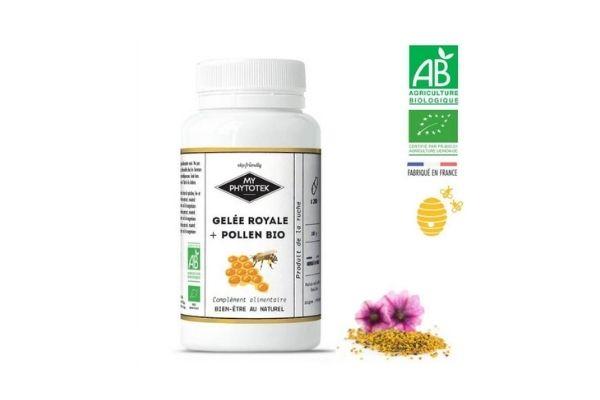 MY PHYTOTEK Gelée royale + pollen Bio 1500mg
